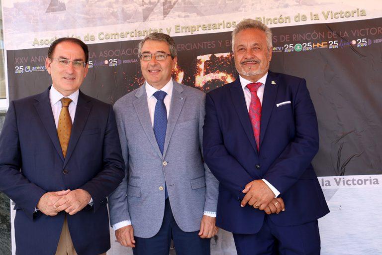 La ACERV celebra su 25 aniversario arropada por empresarios e instituciones de la provincia de Málaga