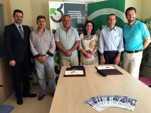 La ACERV y Caja Rural de Granada apoyan e impulsan la actividad de los empresarios y comerciantes de Rincón de la Victoria